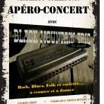Apéro-concert avec Black Mountain Trio (c) mjc de Saïx