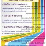 Ateliers découvertes (c) MJC de Saïx