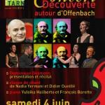Concert-Découverte autour d'Offenbach (c) Conservatoire de Musique et de Danse du Tarn