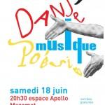 Danse, Musique, Poésie (c) Conservatoire de Musique et de Danse du Tarn