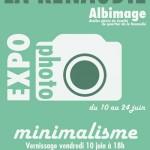 Exposition photo Minimalisme (c) comité quartier de la Renaudié