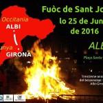 Feu de Saint Jean 2016 (c) Centre Culturel Occitan de l'Albigeois