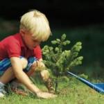 La simplicité volontaire en famille (c) association Libres enfants du Tarn