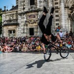Spectacle BMX et Violoncelle Live (c) Association ALGORITHME