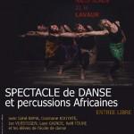 Spectacle danse et musique africaine (c) Association EBENBAO
