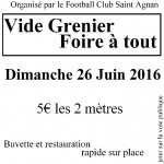 Vide Grenier (c) Association Football Club St Agnan