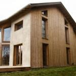Visite d'une maison en paille bioclimatique (c) Espace Info Energie CAUE du Tarn