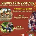 Festival occitan Camins de Crabas (c) Institut d'Etudes Occitanes - Tarn / Centre O
