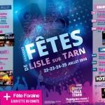 Grandes fête de Lisle sur Tarn ( les 21ans ) (c) Comité des fêtes
