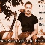 Olive chante Brassens (c) restaurant L'Echauguette