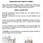 Randonnée Passejades Saint Martin (c) Mairie de Carbes
