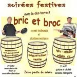 Soirées festives avec bric et broc (c) castel de brames aigues