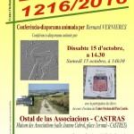 Conférence-diaporama : « Lauragais : 1216/20 (c) Centre Occitan del País Castrés