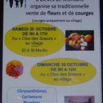 Vente de fleurs et de courges- APE de Montans (c) Association Parents Elèves de l'école de Mont