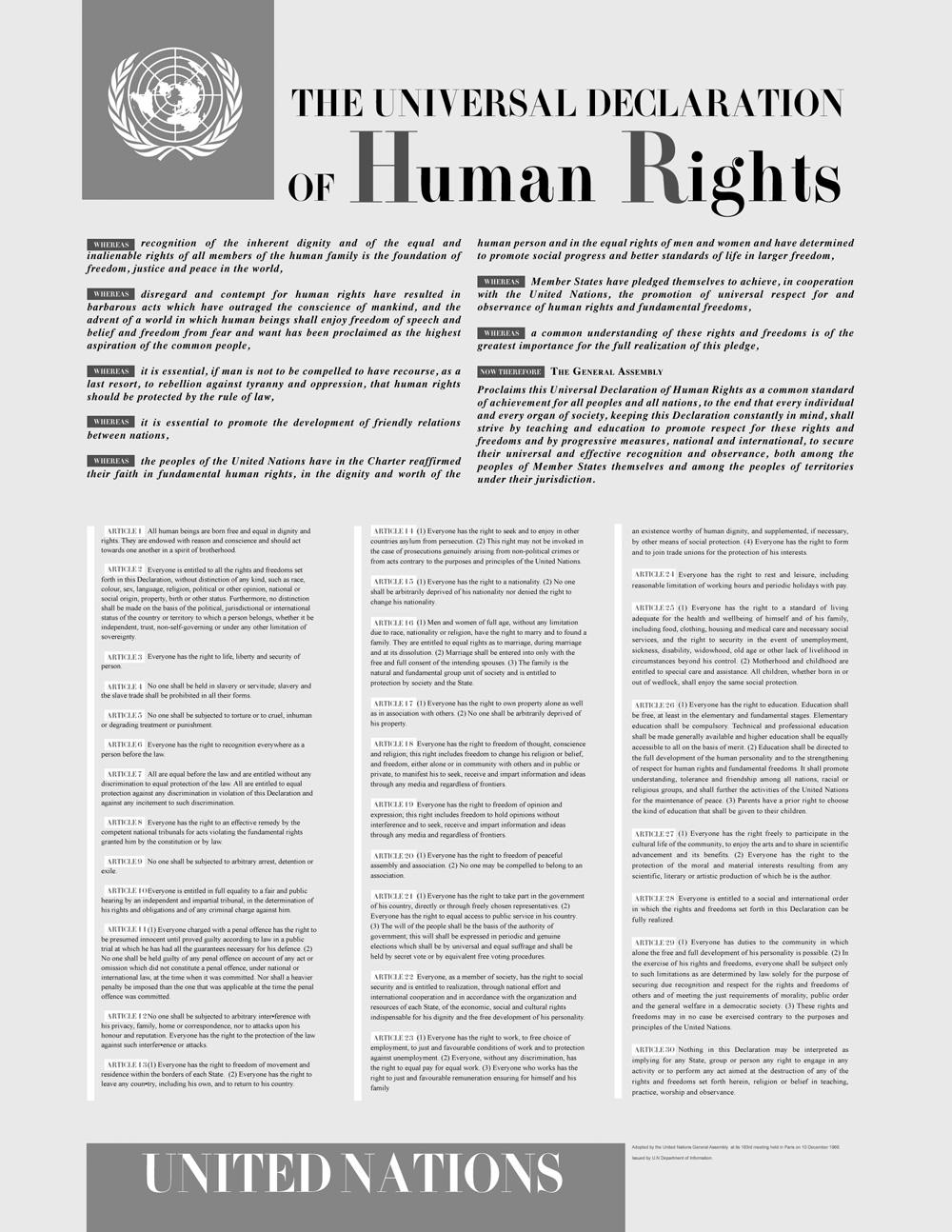 Universelle Menschenrechte