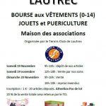 Bourse aux jouets et vêtements et puéricultur (c) Tennis Club de Lautrec