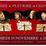 Cabaret théâtre: Poèmes à pleurire et chanter (c) Mairie de SAÏX