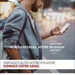 Don du sang, campagne décembre 2016 / © DR