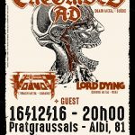 Entombed AD + Voivod + Lord Dying + guest (c) Pollux Association