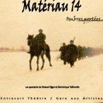 Matériau 14, ombres portées (c) Association Culturelle d'Arthès