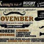 Soirée Caritative MOVEMBER (c) Karry's Pub - RugbyAmateur - Fondation Movemb