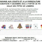 Bourse aux jouets et à la puériculture (c) Association Crèche et Centre de Loisirs la Pa