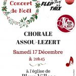 Concert de Noël - Chorale Assou Lezert (c) FLEP de Taïx