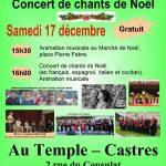 Les Nadalets, concert de chants de Noël (c) Centre Occitan del País Castrés
