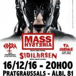 Mass Hysteria + Sidilarsen + Cobra + Ta Gueul (c) Pollux Association
