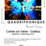 Pérégrination quadriphonique (c) Cartes sur table
