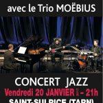 Concert JAZZ avec le Trio MOEBIUS (c) Association ALGORITHME