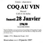 Coq au vin solidaire (c) Association Archeotolosa2015