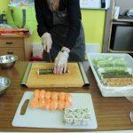 Atelier cuisine : sushis et makis (c) Association pour la Culture Numérique et l'En