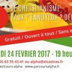 Dîner-discussion Parcours Alpha (c) Eglise protestante évangélique de Lameilhé