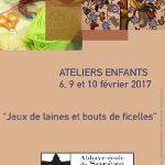Jeux de laines et bouts de ficelles (c) Syndicat Mixte de l'Abbaye-école