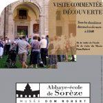 Visites Découvertes (c) Syndicat Mixte de l'Abbaye-école