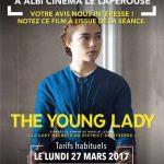 Avant-première : The young lady (c) Cinemovida Lapérouse