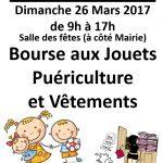 Bourse aux Jouets, Puériculture et Vêtements (c) Mairie