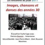 Images, Chansons et danses des années 30 (c) Médiathèque Claude Nougaro