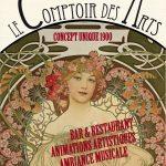 Le Comptoir des Arts (c) Agence Modularium et Traiteur Steph & Co