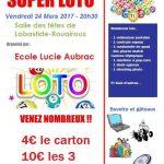 Loto de l'école Lucie Aubrac (c) Ecole Lucie Aubrac