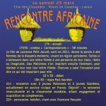 Rencontre Africaine (c) Kana Dougou Bla