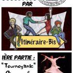 Soirée Goguettes Itinéraire Bis + Tournoyante (c) Association Au Comptoir du Chinabulle