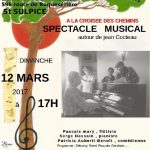 Spectacle musical :autour de Jean COCTEAU (c) Association Le Pin des Arts