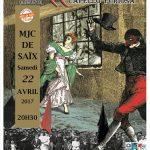 Commedia dell'arte avec le Lazzi Théâtre (c) MJC de Saïx