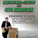 Master class & concert avec Carl Bradychok (c) Ecole de Muzik Addicted et la Maison de la M