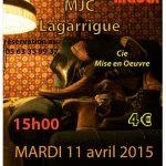 Philomène Madàr nous conte… (c) MJC Lagarrigue
