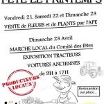 Vente fleurs, plants légumes et marché (c) APE école de Montans et Comité des Fêtes