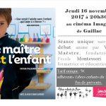 Ciné-débat film Montessori (c) association Libres enfants du Tarn