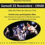 Concert de musique Pop-Rock (c) APEL du Sacré-Coeur